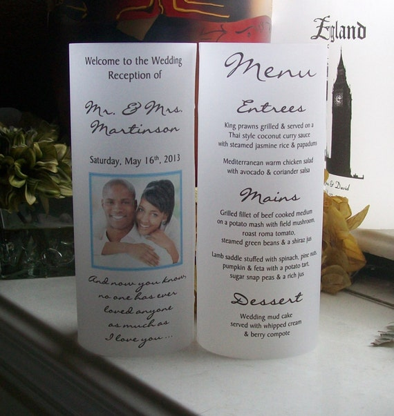 Wedding Gift Ideas Over USD500 : Affordable and Unique Vellum Table Number Idea!For Beer Budget ...