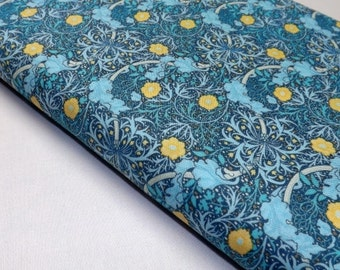 Morris Mania - Fabric Freedom Blue Quilting and Sewing Fabrics