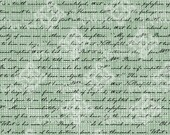 Digital Download Jane Austen Handwriting Text, Pride and Prejudice, digi stamp, Background pattern