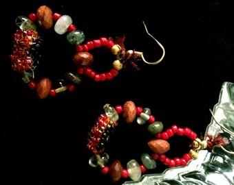 Gaea Goddess Earrings