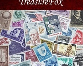Grab bag of 50 Vintage 4 cent Stamps .. Unused 4c US Postage stamps from the 1950s and 1960s
