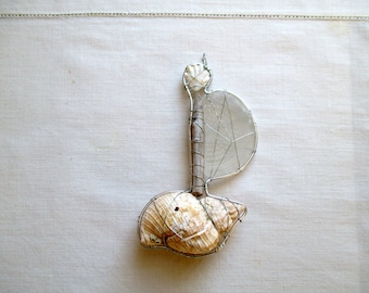 Fairy Tale Seashell Boat Suncatcher