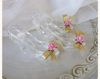Cinderella Princess Glass Slippers Set of Three for Birthday Party Birthday Decoration