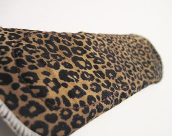 Cloth Mama Pad  .. Cheetah Printed Pantyliner 8 inch FREE Shipping