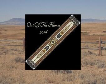 Bead PATTERN Chayton Cuff Bracelet Peyote Brick Stitch