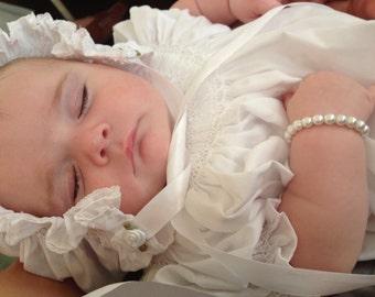 Flower Girl Baby Bracelet Baptism Jewelry