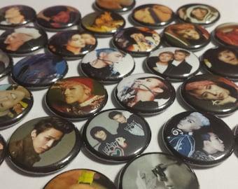 G-Dragon BigBang Button Sets