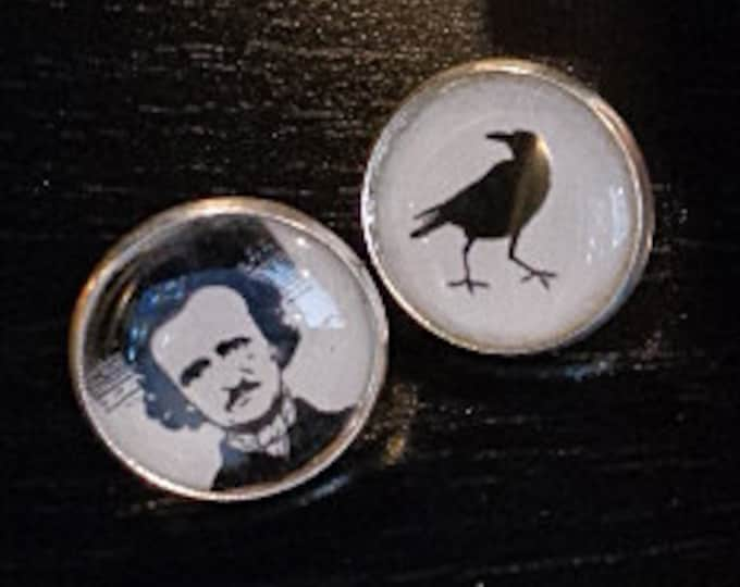 Poe and Raven Post EARRINGS