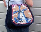 Dutch windmill bag,
