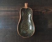 Pear Bowl : Gold Dash