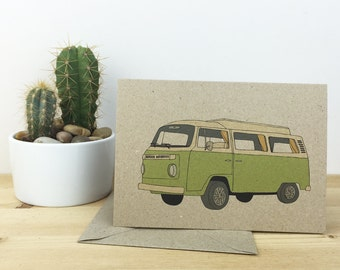 camper van card (100% recycled)