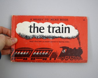 1965 The Train by Jean Fritz -- A Ready to Read Book