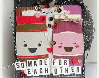 So Made For Each Other - {greeting card & envelope}