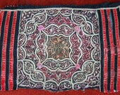SPECIAL PRICE Textiles -  Hmong Baby Carrier/ Hmong / Miao fabric / Hmong embroidery panels - 1020