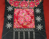 Textiles -  Hmong Baby Carrier/ Hmong / Miao fabric / Hmong embroidery panels - 1039