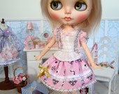 Pullip Blythe Azone Pure Neemo lolita skirt Enchanted bunnies
