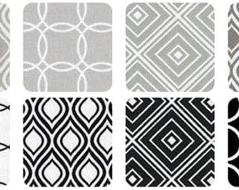 "SQ101 Robert Kaufman Metro Living Platinum Precut 5"" Charm Pack Fabric Quilting Cotton Squares CHS-285-42"