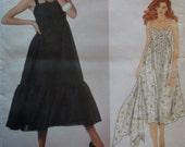 Misses' Dress Vogue 2927 Pattern, Oscar de La Renta Design, Size 14, Bust 36, Uncut