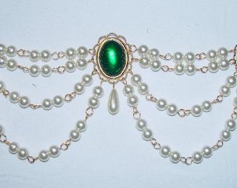 Renaissance Bodice Jewels, Medieval Bodice Jewels, Medieval Jewelry, Renaissance Jewelry, U PICK Colors, Tudor Jewels. Adornment