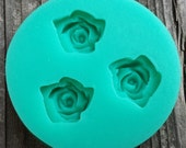 Mini Roses Applique Silicone Mold