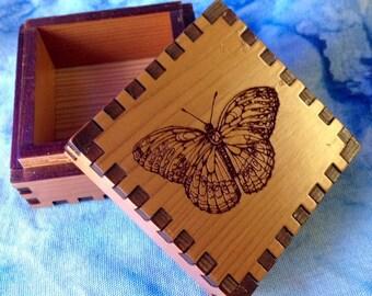 Butterfly 2.5 Jeweler's Box