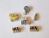 Baby Themed Floating Charms, CHOOSE 1
