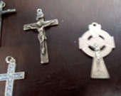 Destash supplies  - lot of Crucifixes
