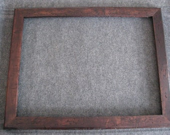 18x24 Wormy Maple Medium Brown Dye Picture Frame