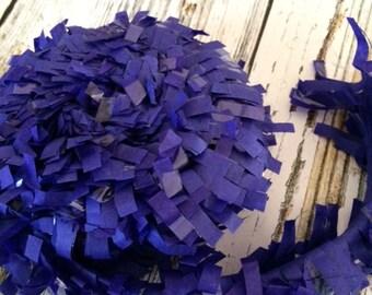 Tissue Paper Garland, Festooning, Tissue Festooning Garland, Paper Fringe,  Blue Festooning Tissue, 25 Feet