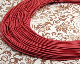 Greek Leather Cord, Coral, 1.8 MM, 12-feet  M350