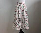 Appleseeds Midi Skirt in Strawberry Fields