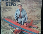 Model Airplane News, Feb 1957 Scale Plans to build airplanes  Radio Control models aircraft Retro 1950's Flying
