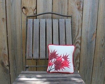 Petite Japanese Maple Leaf Pillow