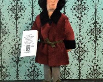Nicolaus Copernicus Doll Miniature Scientific Art Renaissance Era Mathematician Astronomer