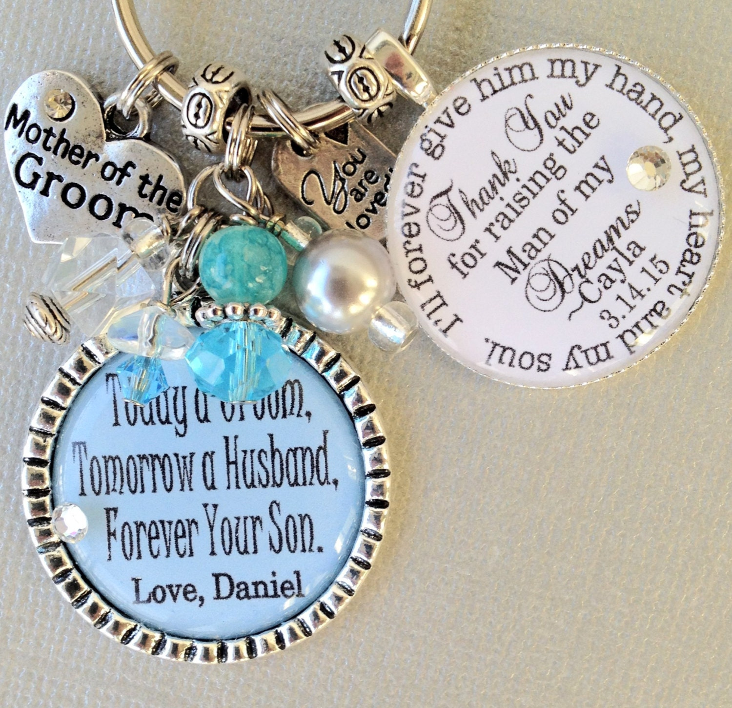 Unique Mother Of The Bride Gifts: Mother Of Groom Gift MOTHER Of The BRIDE Gift PERSONALIZED