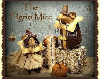 Pilgrim Mice E-Pattern