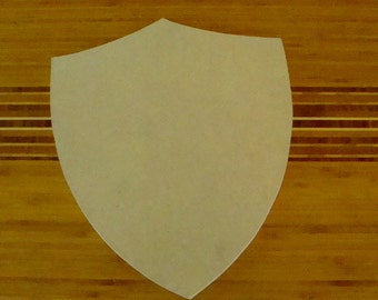 Shield Unfinished Mdf Wood Huge Shield Blank Family Crest Mosaic Base Craft Base