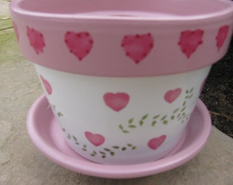 Heart Flower Pot