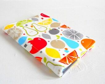 mini list coupon organizer memo pad holder bright fruit