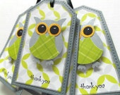 owl thank you tags 12