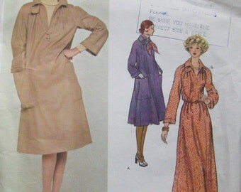 Vogue American Designer Dress Pattern Geoffrey Beene 1257