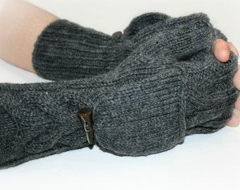 Convertible Men's Mittens