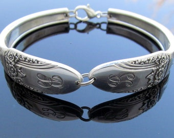 Spoon Bracelet B Monogram First Love Small Medium Large