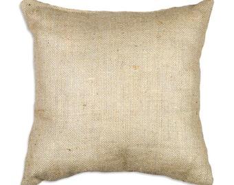 burlap pillow cover colors natural orange ivory black square covers