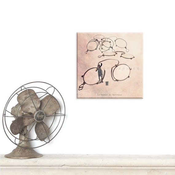 canvas art, photography canvas, canvas print, Steampunk home decor, Art, Back to school, Photography Office decor, School teacher gift