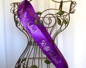 50th Birthday Sash - 50 and Fabulous!