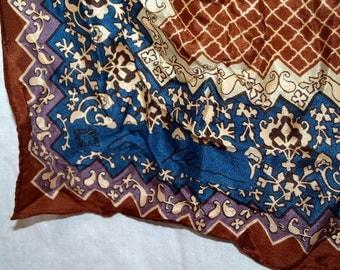 Anne Klein silk scarf vintage