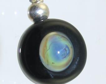 Bubble SRA Lampwork Bead Pendant