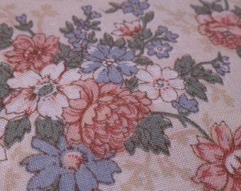 Vintage Roses - Vintage Fabric - Cotton - Joan Kessler - Concord Fabrics
