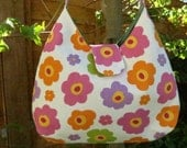 Janey bag in pretty retro floral print